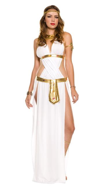 Trajes de la muchacha árabes y La India dios Griego de la diosa del amor Venus reina Cleopatra traje al por mayor y al por menor
