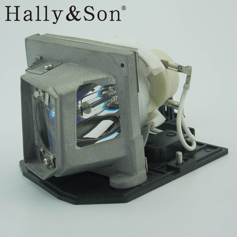 Hally&Son Original projector lamp with housing for Optoma HD20-LV HD200X HD200X-LV pureglare original projector lamp for optoma ep7479 with housing