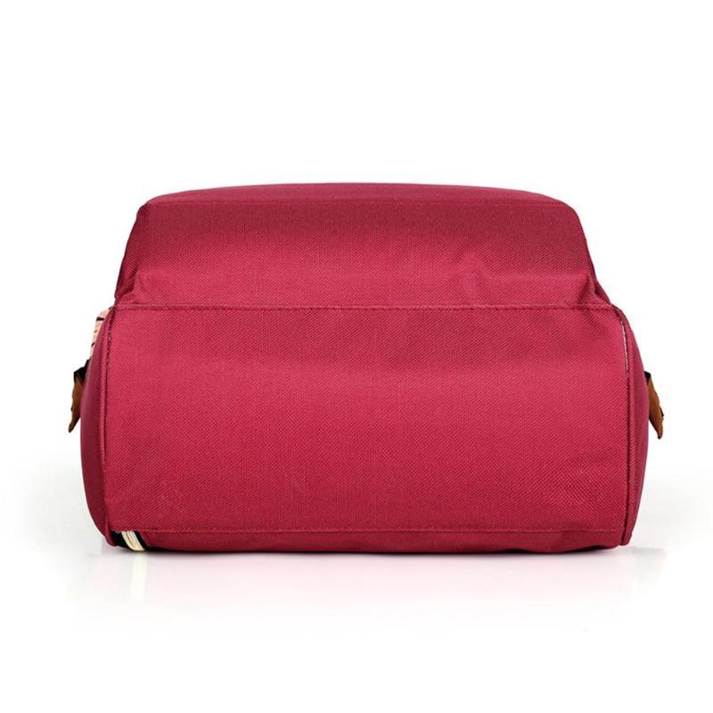 HTB1k2mHSQvoK1RjSZFwq6AiCFXaX Large capacity Mummy Maternity Travel Backpacks Nylon Plant Print 2019 Stylish Baby Diaper Shoulder Bags Daily Casual Travel New