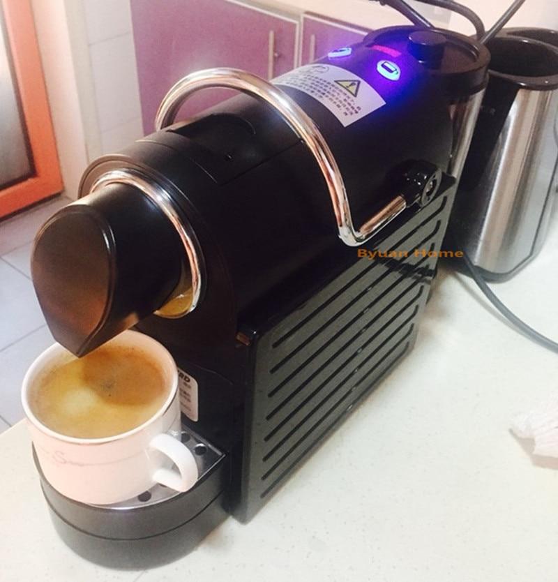 New capsule Fully automatic coffee machine espresso electric cappuccino latte coffee maker soft capsule compatible coffee