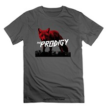 0433bbcd Men t shirt The Day Is My Enemy The Prodigy Fashion Loose Black t-shirt