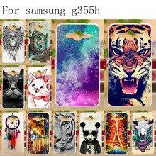 Anunob Soft TPU Silicone Cover For Samsung Galaxy Core II G355H G355M Case Coque 2 Core2 G3556D G3559 G3558 4.5