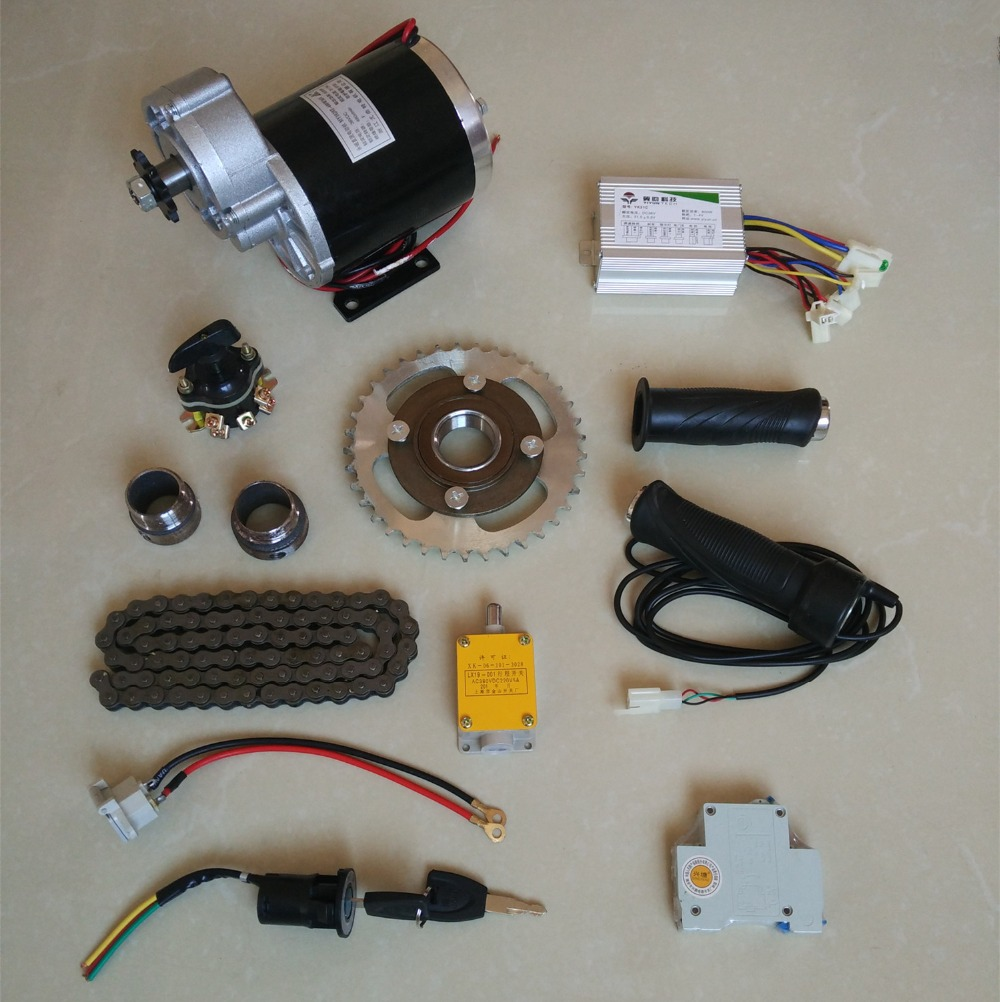DC 36V 600W MY1020Z brush motor kit , electric bicycle kit ,Electric Trike, DIY E-Tricycle, E- Trishaw Kit купить в Москве 2019