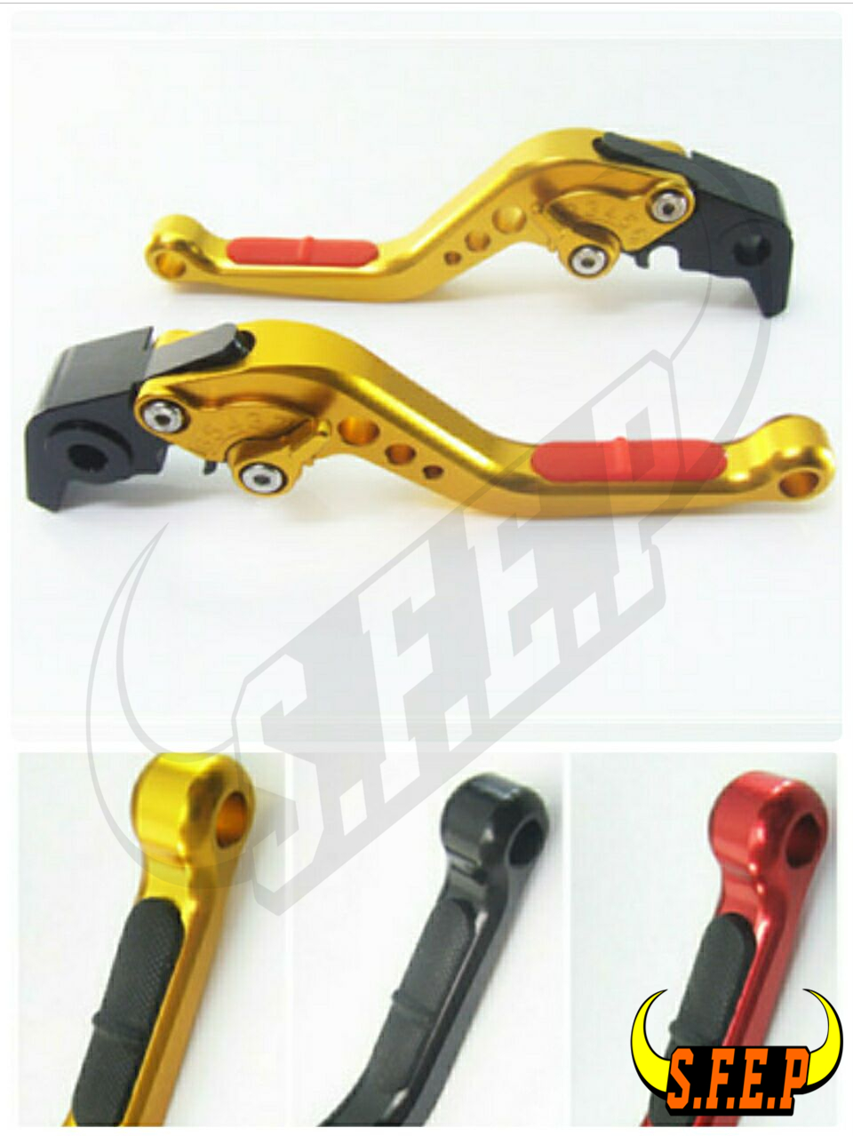 CNC Adjustable Motorcycle Brake and Clutch Levers with Anti-Slip For Honda CBR 600 F2,F3,F4,F4i 1991-2007
