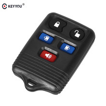 Keyyou 5 Ons Remote Control Key Case Shell For Ford Expedition Lincoln Navigator 2004 2005 2006 2007 2008 2009 2010 2017