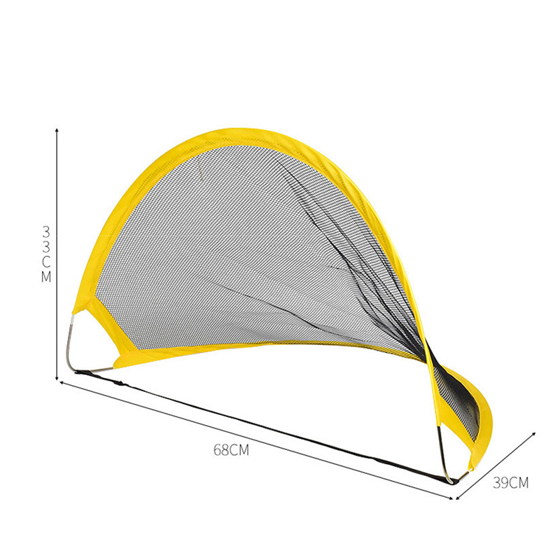 High 2Pcs Soccer Football Goal Net Kit Set Foldable Training Goal Net Tent Kids Indoor Outdoor Play Toys DOG88