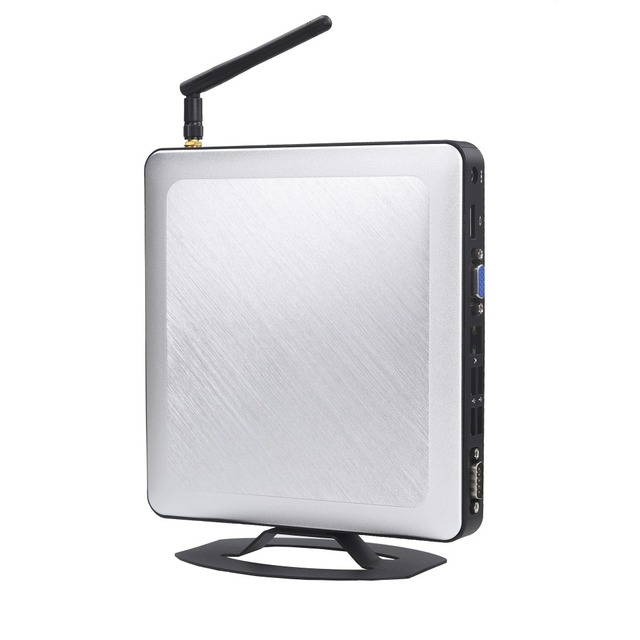 Intel I3 2350M Mini Pc Windows 10 Aluminum Case HDMI VGA Small Computer Desktop PC