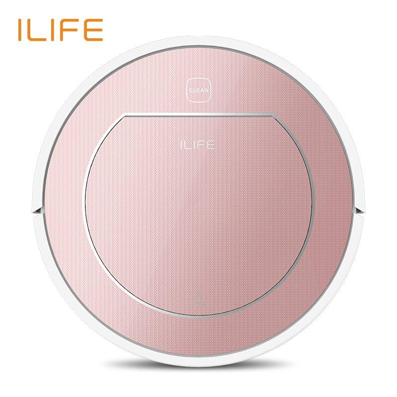 ILIFE V7s Pro Robot Inteligente Aspiradora Limpieza Mojado y Seco 500 ML Super-caja de Agua HEPA Filtro Carga Automático