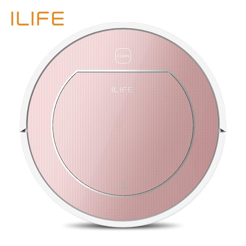ILIFE V7s Plus Robot Inteligente Aspiradora Limpieza Mojado y Seco 500 ML Super-caja de Agua HEPA Filtro Carga Automático