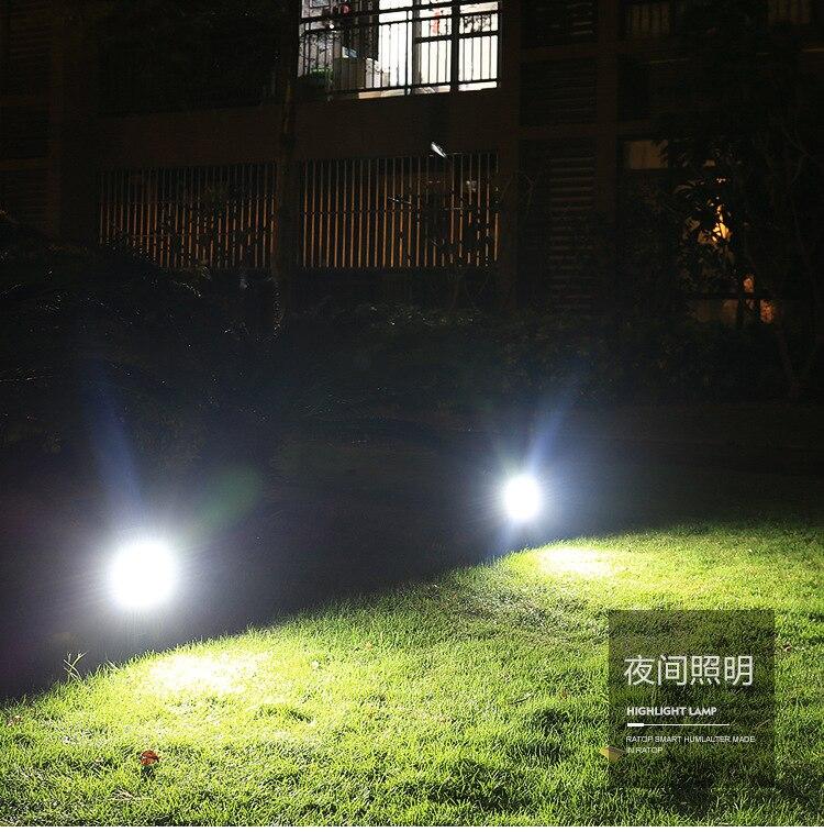 Luz De Energia Solar Lâmpada Do Gramado Do Jardim