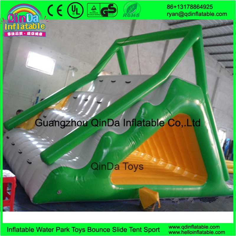 inflatable floating water slide39