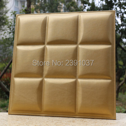 acoustic panels 16pcs4040cm leather panel pu leather wall panel panel acustico choice of fabric