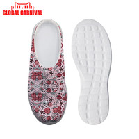 Girly Tattoo in Pink Woman Home Slip on Light Weight Beach Water Shoes Female Mesh Flat Loafers Christmas gift