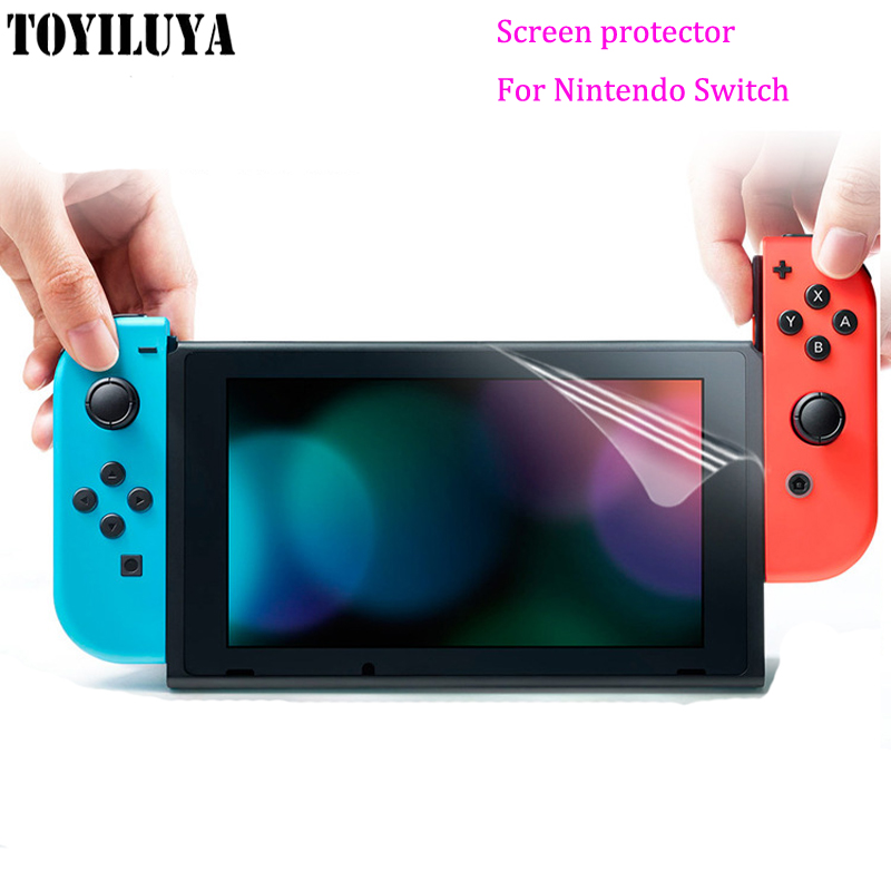 Clear Screen Protector Protective Film Guard Cover for Nintendo Switch LCD Screen Film