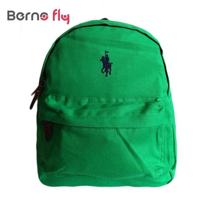 Hot Bonito anti-perdidos Crianças mochila de lona de algodão mochila infantil saco mochila de Alta qualidade mochila Crianças das meninas do menino polo sacos