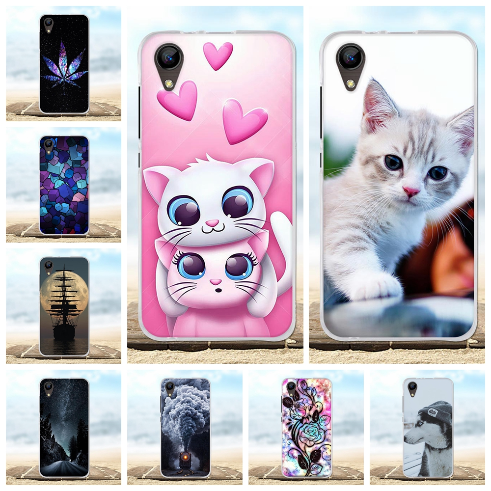 For BQ S 4072 Strike mini Case Soft Silicone TPU Cover Animal Patterned BQS-4072 Shell Bag