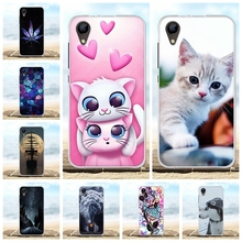 For BQ S 4072 Strike mini Case Soft Silicone TPU For BQ 4072 Strike mini Cover Animal Patterned For BQS-4072 BQ 4072 Shell Bag купить недорого в Москве