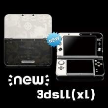 Etiqueta protetora da pele do vinil para o emblema do fogo adesivos para nintendo novo 3dsll 3dsx jogo limitado