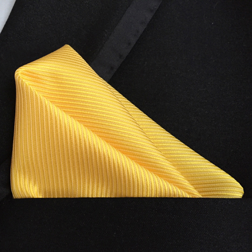 Top Fashion Ties With Pocket Square Solid Striped Handkerchief To Match Tie