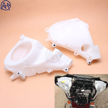 цены Motorcycle white Inner Fairing Speakers Cover For Harley Touring Road King Electra Street Glide FLHT FLHX FLHR 2014-2017
