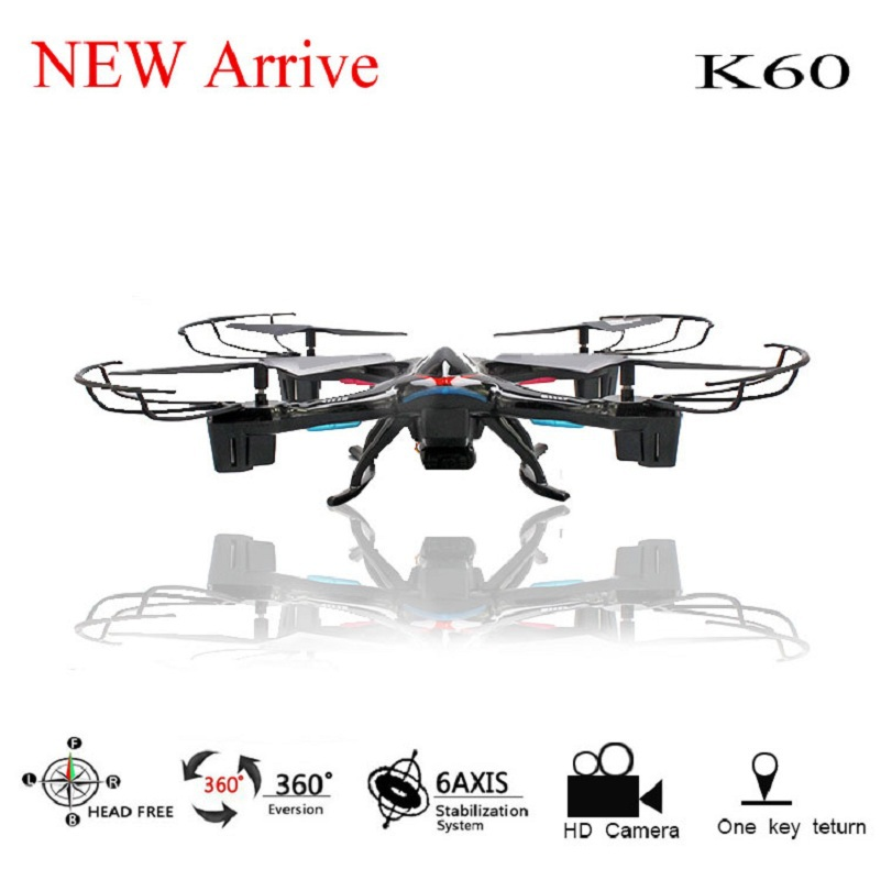 ФОТО 2016 Newest RC Drone Roll Stumbling 6 Axis Gyro fpv Headless 2.4G Remote Control Quadcopter with HD 2.0MP Camera RC Drone
