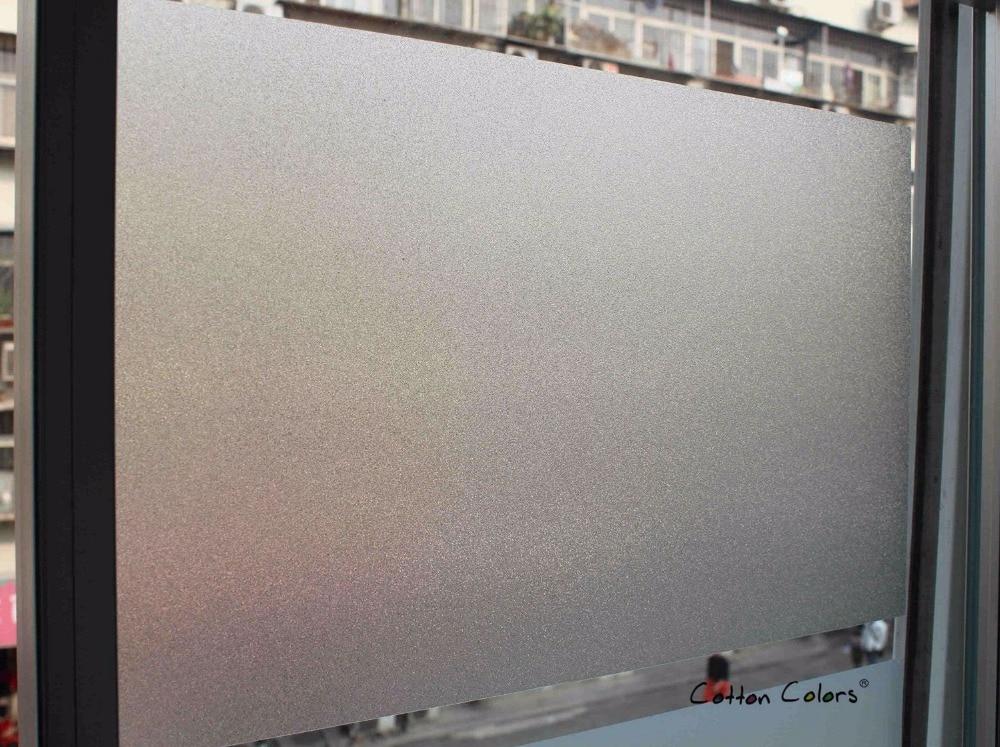 Pambıq rəngləri Ev hamam otağında rəngli pəncərə filmləri - Ev dekoru - Fotoqrafiya 6