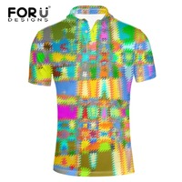 FORUDESIGNS Brand Clothing Men Polo Shirt Modern Polo Homme For Men Tee Shirt Tops High Quality
