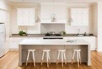 2017 горячей продажи твердые деревянные модульные кухонные шкафы мебель новый стиль поставщиками Китая