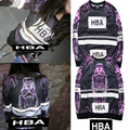 Deadpool Brand Hood By Air HBA Hoodie Men Women 3M Reflective Harajuku Sweatshirts Hip Hop Religious Yeezy HBA Couple Hoodies