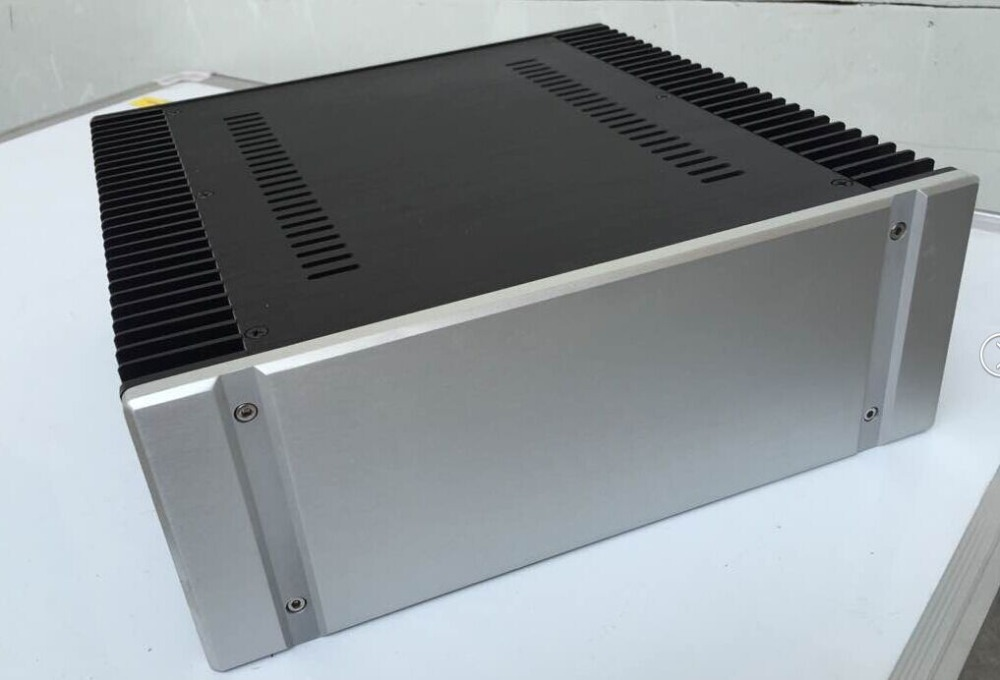 Full aluminum chassis case enclosure for class ab for Chassis aluminium