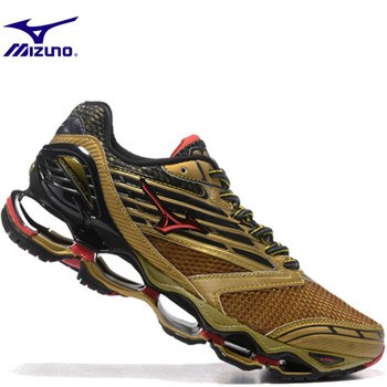 Mizuno Wave Prophecy 5 Men Shoes 4 Color Breathable Runner Sneakers Air cushion running shoes Weightlifting Shoes Non-slip Light sneakers