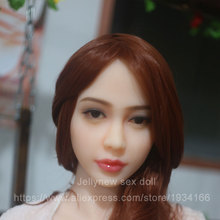 tpe sex doll head in Sex Dolls,sexy lips,Tongue,adult toys for men,,oral depth 13cm,Fit body :153,156,158,160,161,163,165,168cm