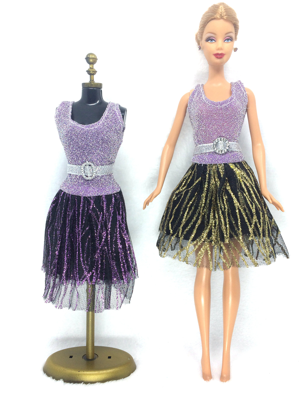 NK One Set Doll Clothes New Handmade Party Doll's Dress Clothes Gown For Barbie best baby gift free shipping 025A топы sally hansen dries instantly объем 13 3 мл