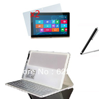 Wireless Bluetooth Keyboard Folio Stand Leather Case Cover +2x Screen Protector +Stylus for Acer Iconia Tab W700 W701 P3 11.6'