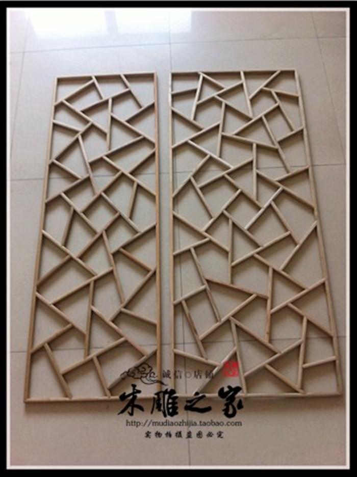 деревянные решетки на потолок - Dongyang wood carving ice ice elm wood lattice crack Chinese decoration flower window background wall ceiling decoration