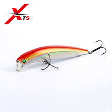 Купить с кэшбэком XTS Fishing Lure 120mm 21g Wobblers Artificial Hard Minnow Bait Six Colors Floating Topwater High Quality Fishing Bass Bait 5359