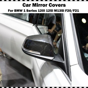 Orijinal Stil Karbon Fiber Yedek Ayna Kapağı BMW 1 Serisi 120i 125i M135i M140i 2012-2018 F20 F21 Dikiz Aynası Kapağı