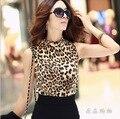 2015 Nova Moda Malha Transparente Sexy Top Colheita Preto Sólido Mulheres Curtos de Verão Tanque Casual Tops Plus Size S-XL