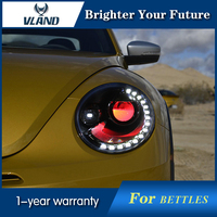 Car Styling Headlight For Volkswagen Bettle 2013 2015 Head Lamp DRL HID Xenon Headlights