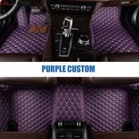 Car Believe car floor mats For jaguar xf xj F PACE XJL F TYPE XK XFL XEL car accessories carpet rugs