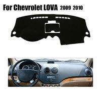 Fundas de salpicadero de coche para Chevrolet LOVA 2009-2011 unidades de mano izquierda dashmat fundas de salpicadero de coche accesorios de plataforma de instrumentos
