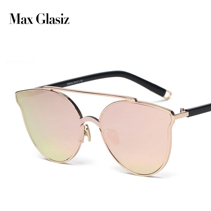 Luxury Sunglasses Retro Vintage Fashion Women Ladies Brand Designer UV400 For Red Lens