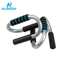 ALBREDA Push Up Bars push-up Stand Muscle Building bodybuilding Home Fitness Equipment exercise bar for stand up Free Shipping