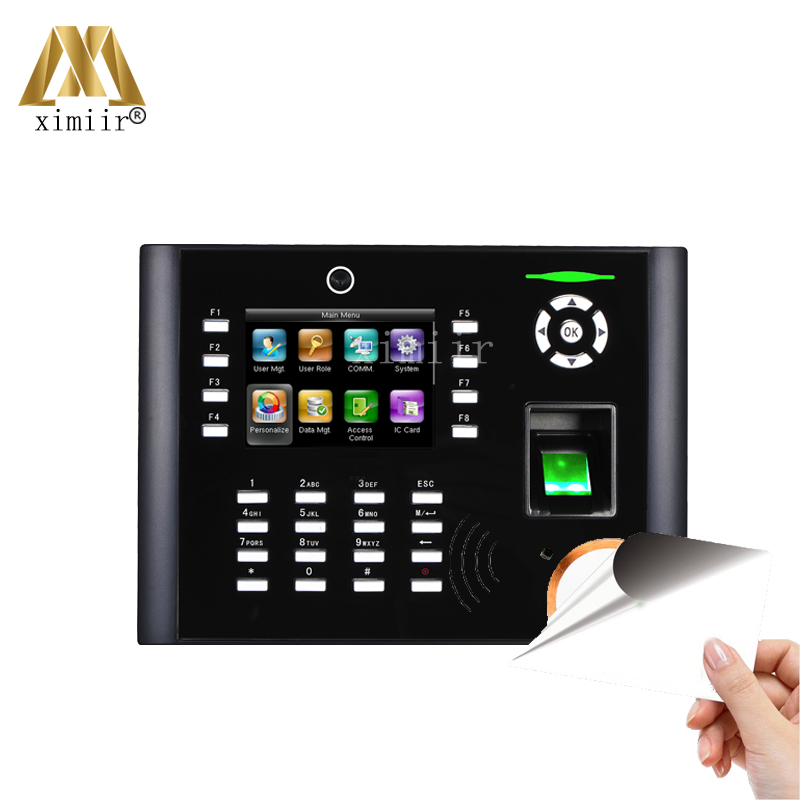 Access Control Iclock680/660 With 13.56MHz Card Multi Language Free Software Fingerprint Time Attendance With 3G,ADMS Function