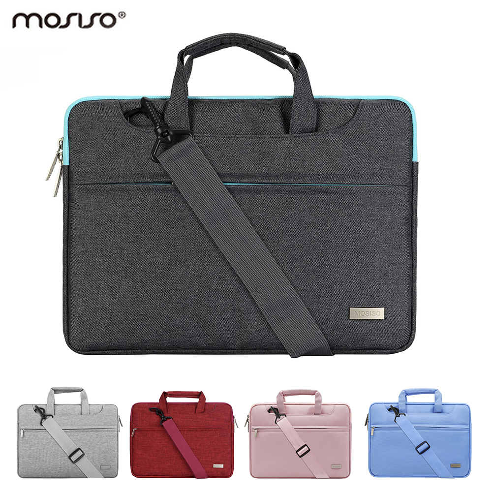 Mosiso Notebook Case Acer Dell Asus 15.6 13.3 11.6 Portable Laptop Briefcase Bag Macbook