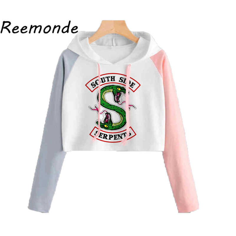 Kpop Clothes South Side Serpents Riverdale Hoodie Sweatshirts Women Girls Kpop Clothing Riverdale SouthSide Pullover Hooded Tops