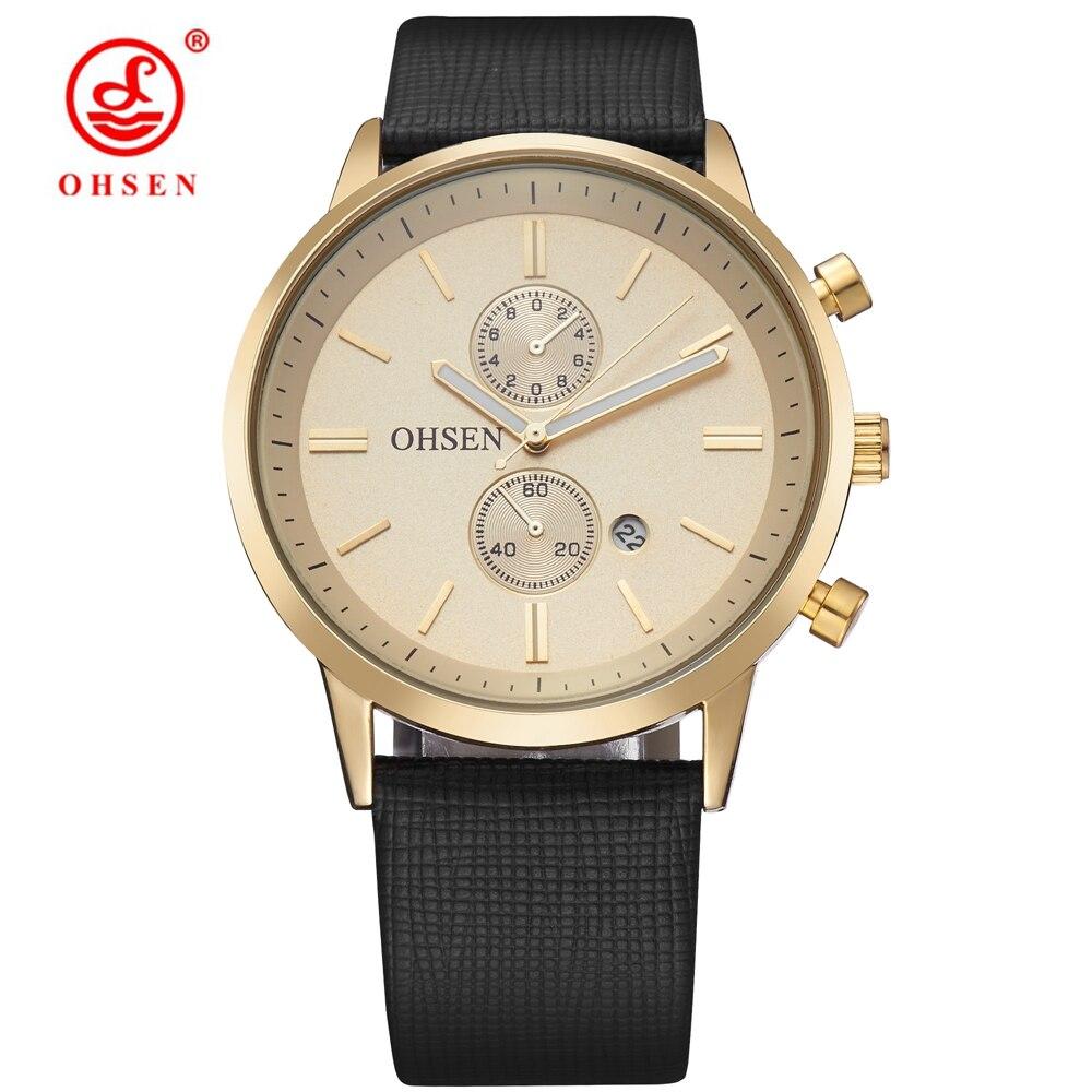 NEW Sosire Brand de moda OHSEN cuarț ceas de mână ceasuri de - Ceasuri bărbați