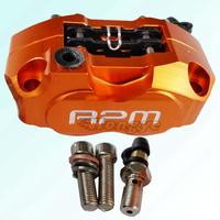 Motorcycle Modification Electric Motorcycle Four Piston Brake Calipers Pump RPM 200 220 For WISP RSZ Turtle