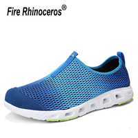 2019 men's spring summer sneaker socks Upstream breathable mesh beach water outdoor river shoes sport Aqua gym shoes