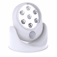 Energy Saving Motion Activated Cordless Sensor 7 LED Light Indoor Outdoor Garden Wall Patio Shed